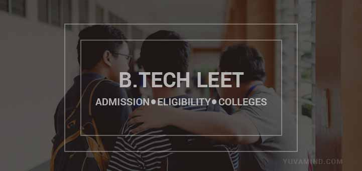 B.Tech LEET Admission