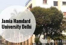 Jamia Hamdard University Delhi – BMLT Admission, Application Form 2019, Admit Cards and Exam Dates