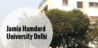 Jamia Hamdard University Delhi – BMLT Admission, Application Form 2019, Admit Cards and Exam Dates